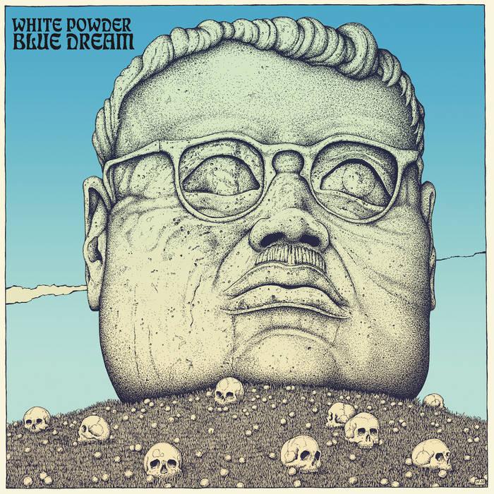 "White Powder's ""Blue Dream"" Album Cover"