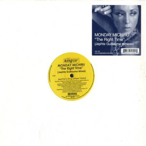 Monday Michiru - The Right Time (Jephte Guillaume Remixes)