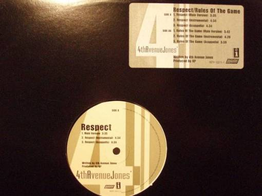4th Avenue Jones - Respect / Rules Of The Game