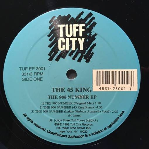 The 45 King - The 900 Number EP