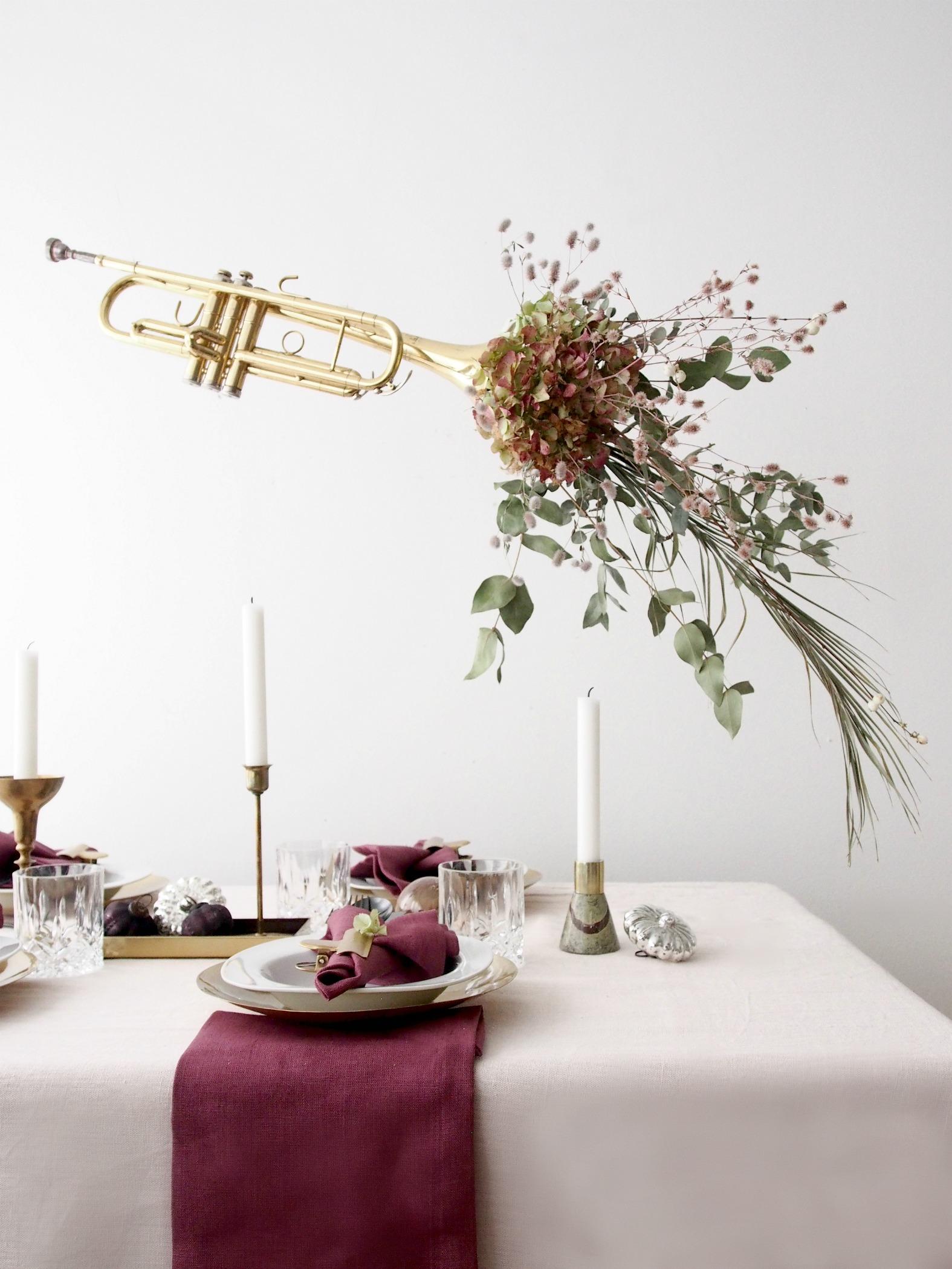 DIY Christmas Table Setting Ideas