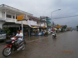 We biked along the Vang Vieng