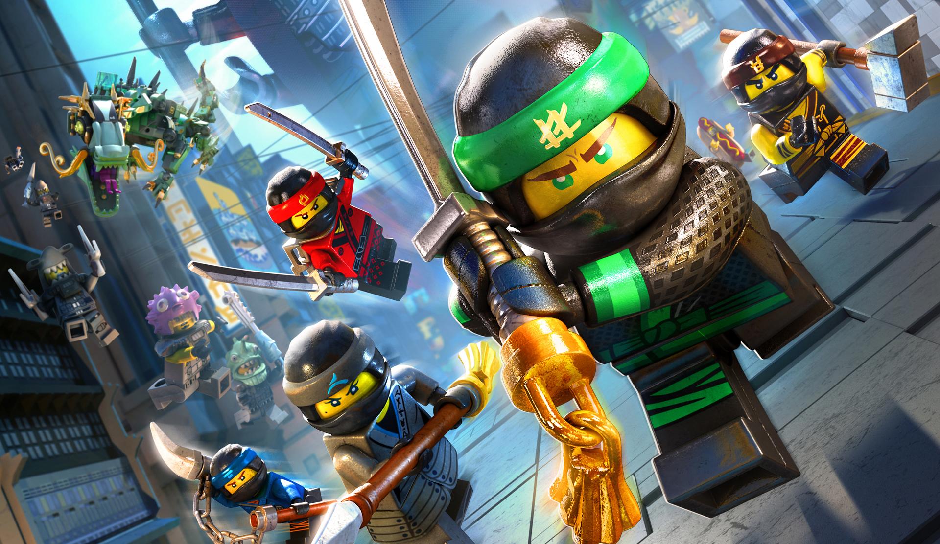 The Lego Ninjago Movie Video Game Review Lego Ninja Go Ninja GO MonsterVine