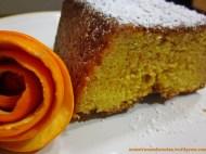 Plum cake de naranja.