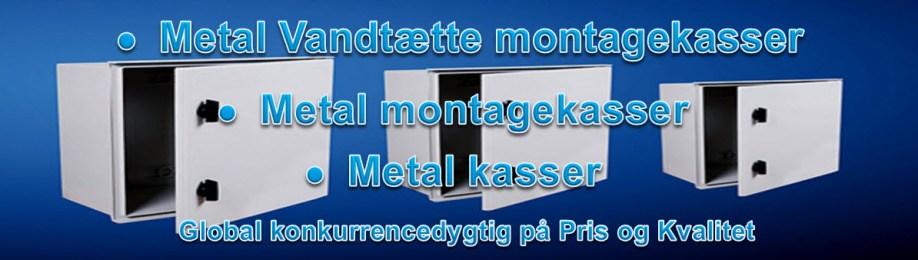 Metal Vandtætte montagekasser