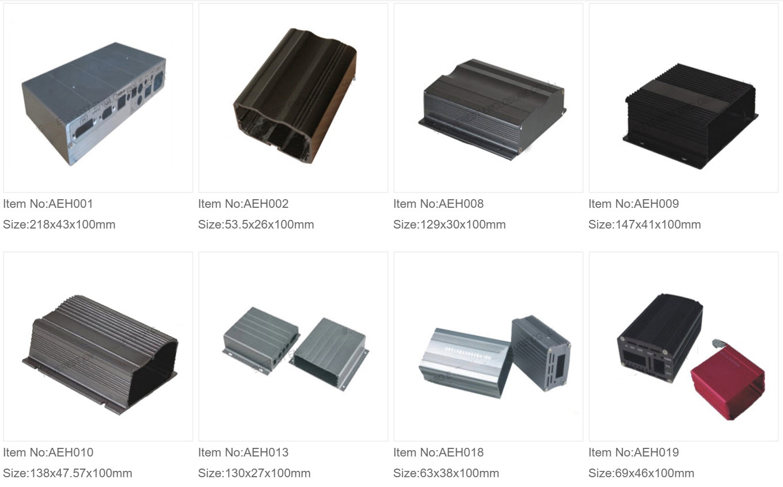 Aluminium Ekstruderede Kasser 1