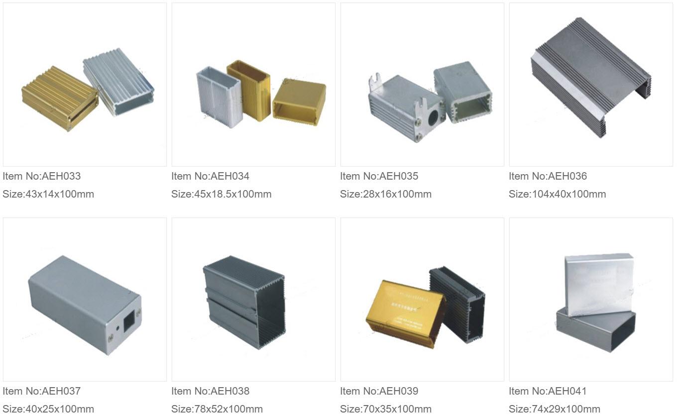 Aluminium Ekstruderede Kasser 4