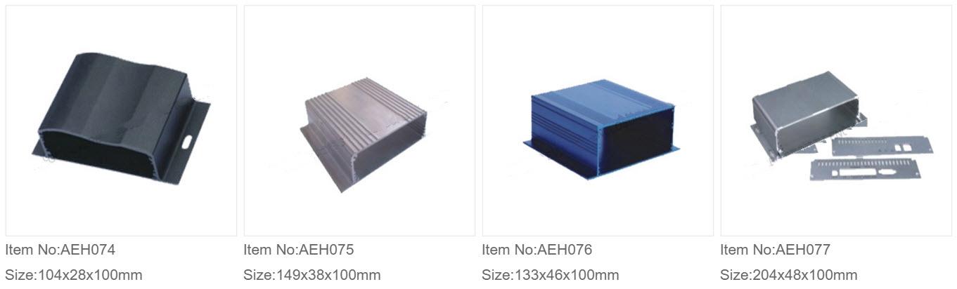Aluminium Ekstruderede Kasser 9