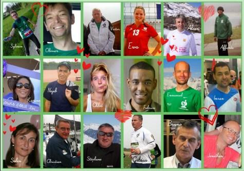 L'équipe Trans Forme 2015 pour la Course du Coeur