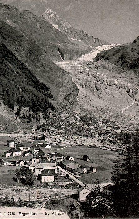 Argentière - Le village