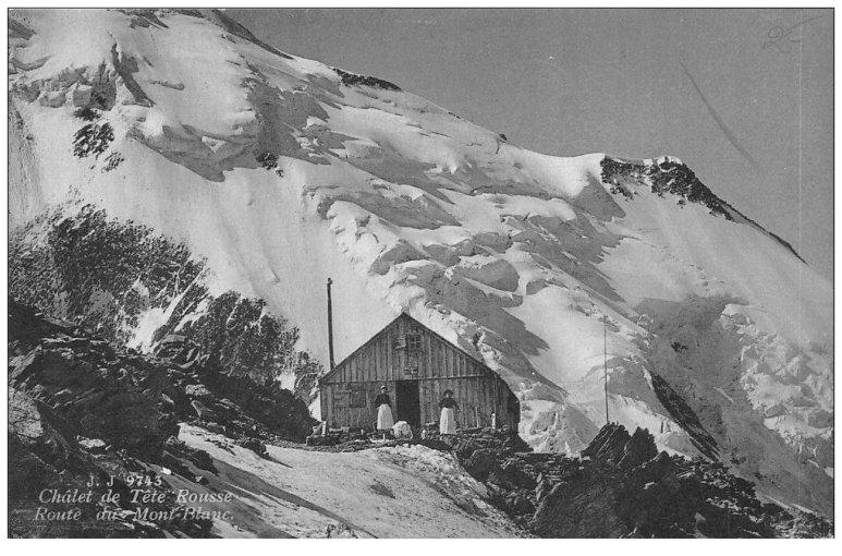 Châlet de Tête Rousse - Route du Mont-Blanc
