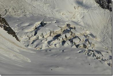 18 Crevasses Glacier de Bionnassay