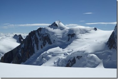 52 Du Dôme du Goûter, le Mont Maudit