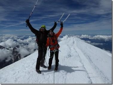 65 Au sommet du Mont Blanc