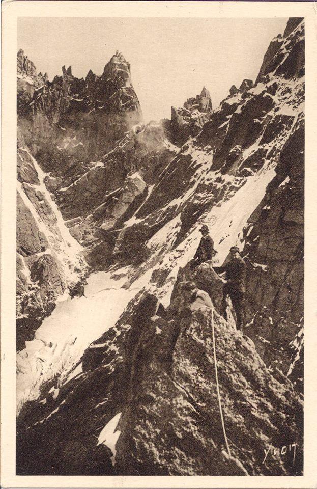 Alpinisme aux Pélerins