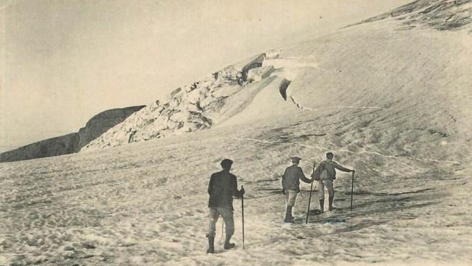 Glacier - Ascension du Vignemale