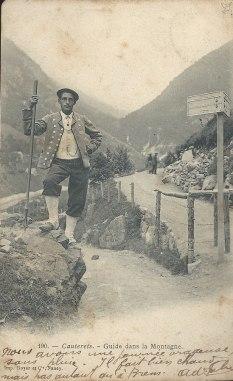 Guide dans la montagne