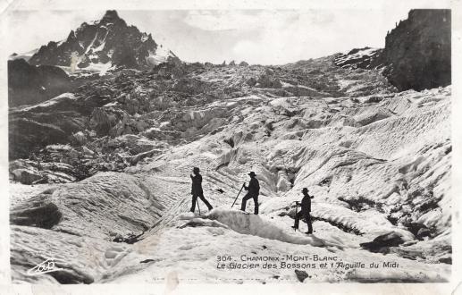Le Glacier des Bossons