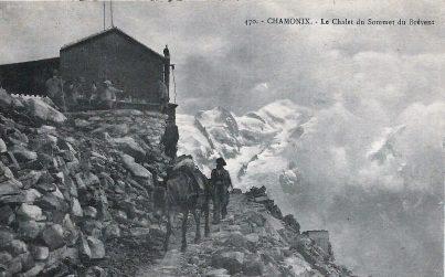 Chalet du sommet du Brévent