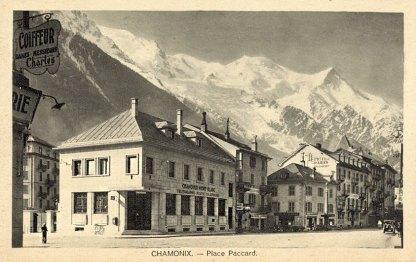 Chamonix Place Paccard