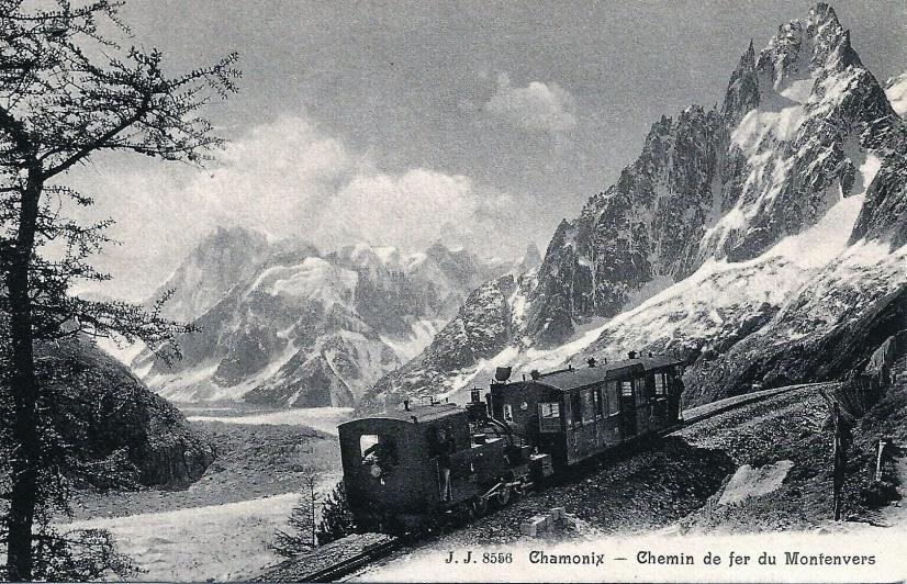 Chamonix - Chemin de fer du Montenvers