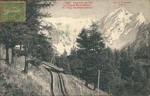 Chemin de fer Le Fayet-Mont-Blanc