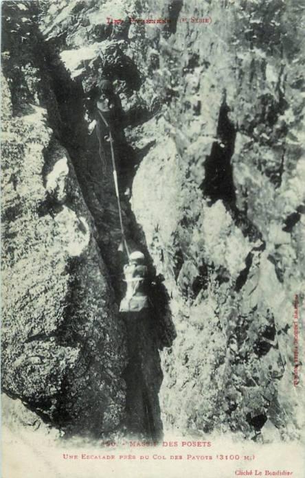Escalade Col des Pavots