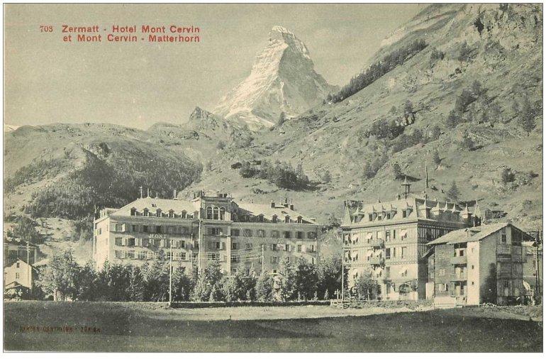 Zermatt et Matterhorn