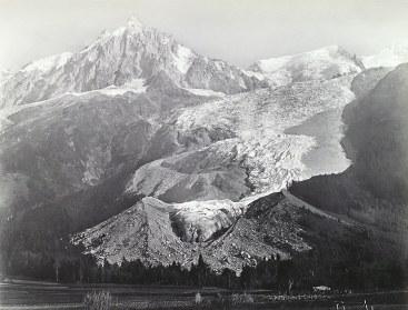 Glacier des Bossons 1866