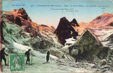 Route du Mont Blanc La Jonction