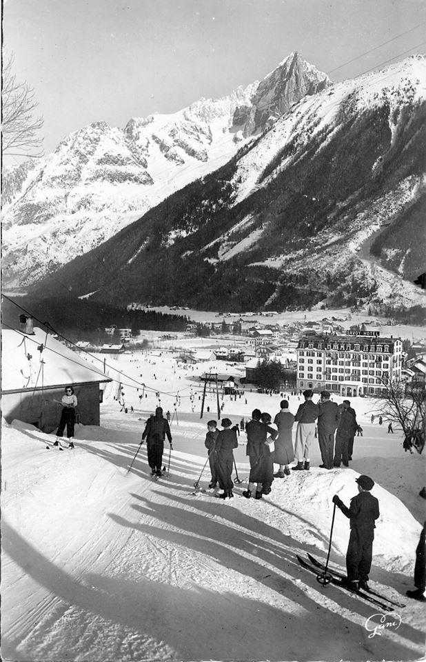Ski dans Chamonix