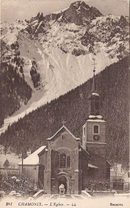 Chamonix L'église