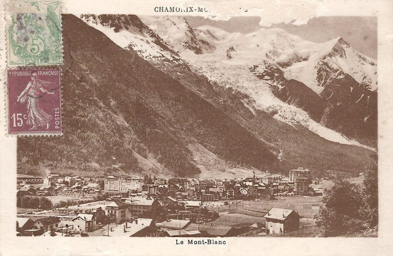 Chamonix Le Mont Blanc