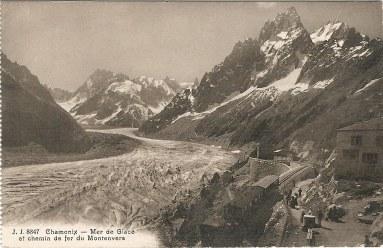 Mer de Glace et chemin de fer du Montenvers
