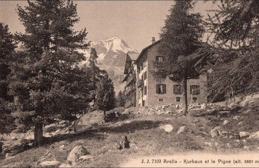 Arolla Kurhaus et le Pigne