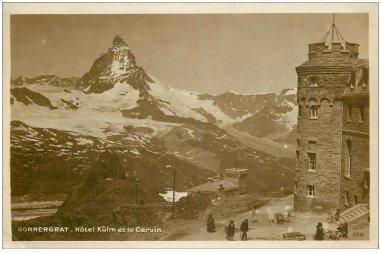 Hôtel Kulm et le Cervin
