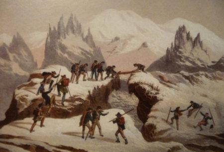 Histoire du massif du Mont-Blanc, par les cartes et les gravures