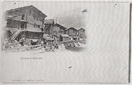 Chalets à Zermatt