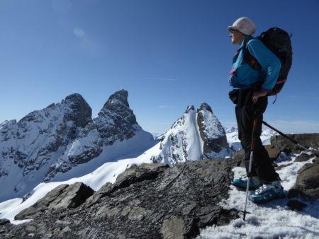 Aiguille de l'Epaisseur en ski de randonnée