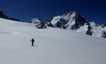 Tête Blanche en ski de randonnée