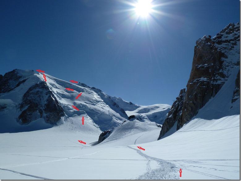 9 Mont Blanc du Tacul