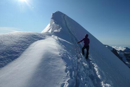 Le Breithorn – 4163m