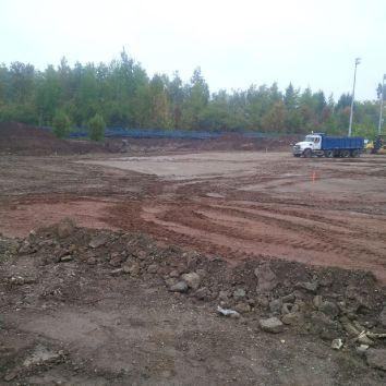 Stripping Top Soil