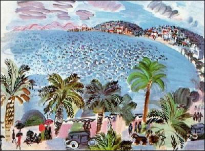 La Baie des Anges par Henri Matisse