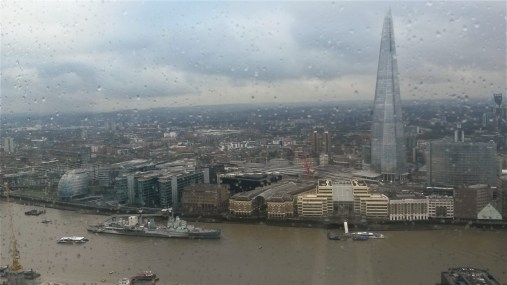 The view from the Sky Garden