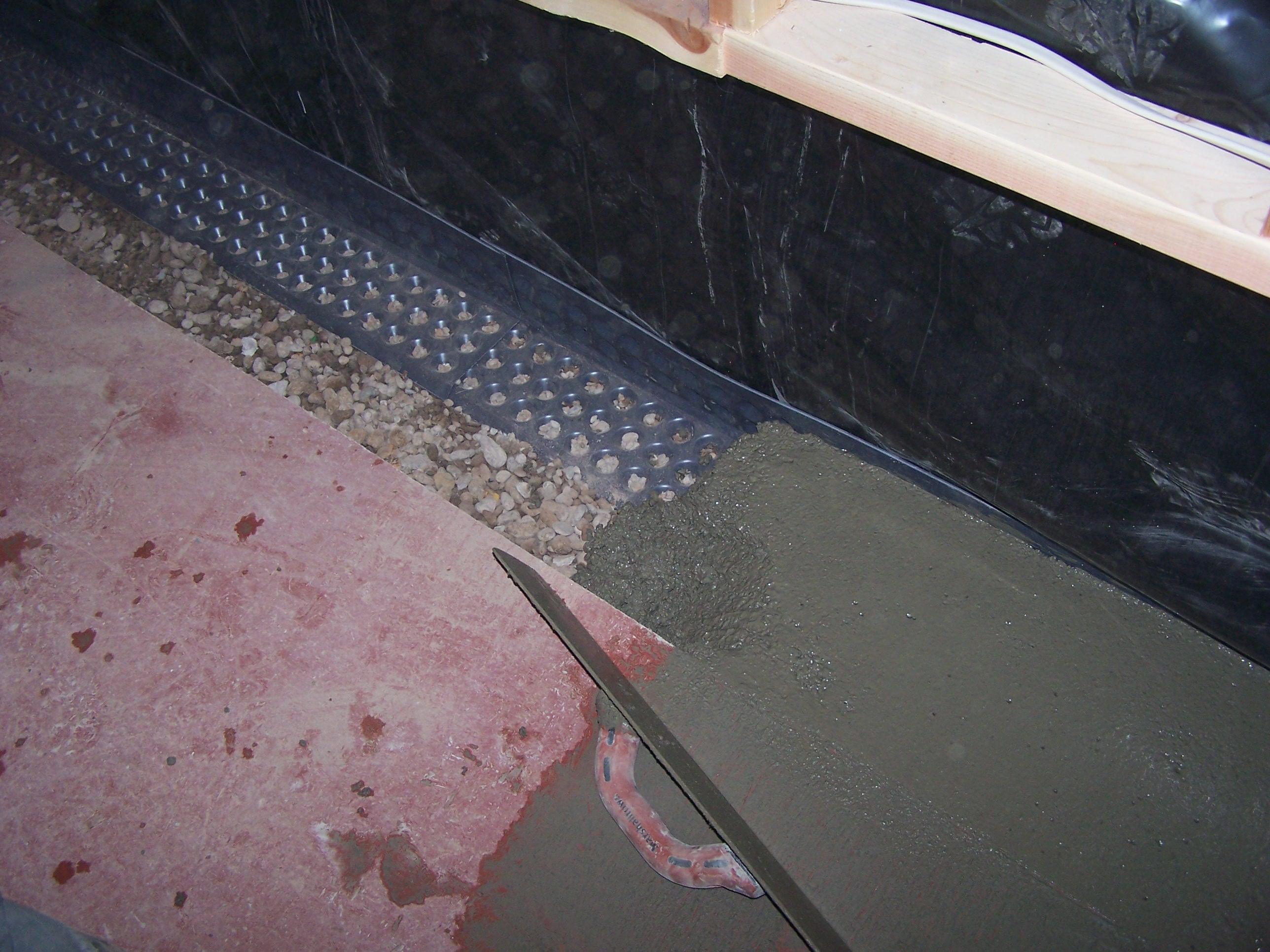 Interiorexterior Sump Pump Drain Systems  Montana