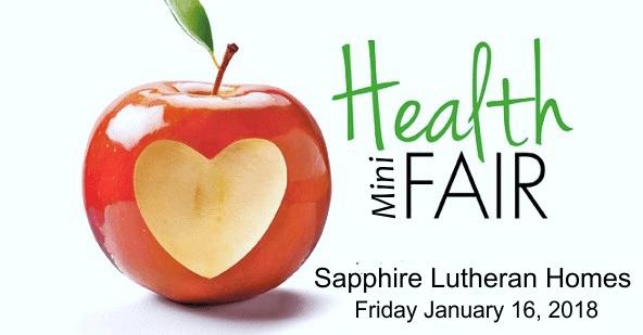 2018 Health Mini-Fair at Sapphire Lutheran Homes in Hamilton