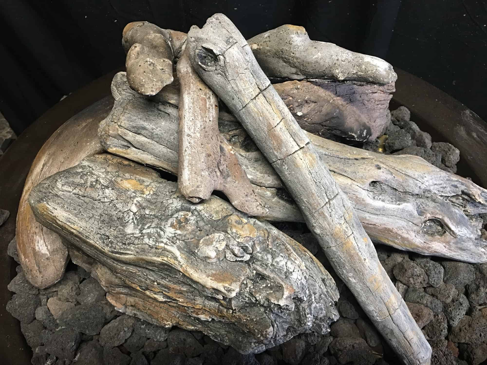 Ceramic Fire Pit Logs