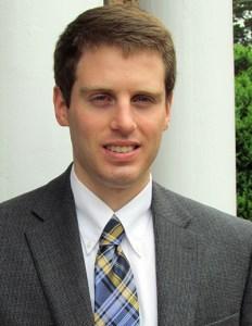 Geoffrey Skelley, Associate Editor, Sabato's Crystal Ball University of Virginia Center for Politics. Courtesy photo.