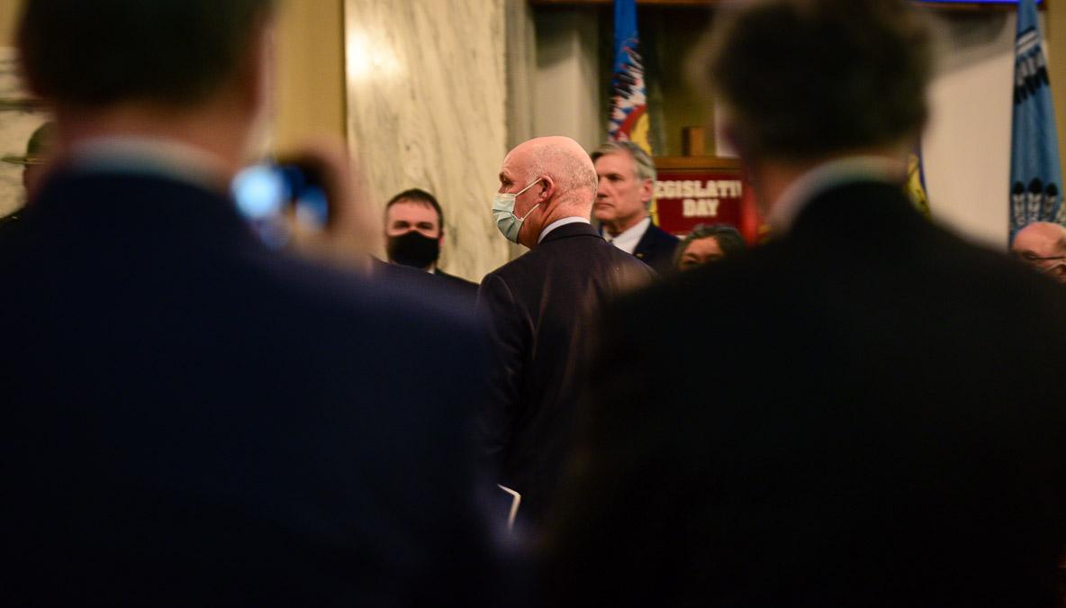 Greg Gianforte, State of the State address, 2021